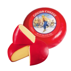 """Gouda"" Red Wheel (Holland) *APX WEIGHT 9 LB"