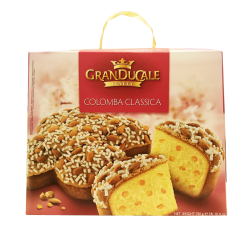 """Grand Ducale"" COLOMBA, Classica kulich 750gr/11pc (RED)"