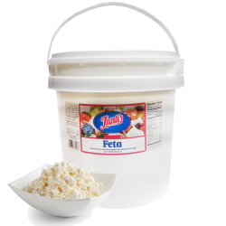 """Greek"" Feta Domestic  10lb/Pail ""Fantis"""
