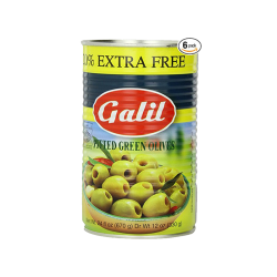 Green Olives Pitted  24oz/12pc
