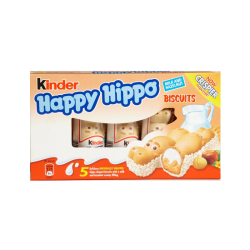 """Happy Hippo""  w/Hazelnut 10bx X 5pc  20.7gr"