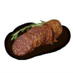 Herb Salami Coated With French Herbs