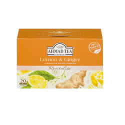Herbal Tea Lemon & Ginger  20tb/6pc