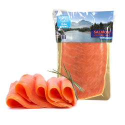 COLD SMOKED SALMON SLICED 227GR/10PC