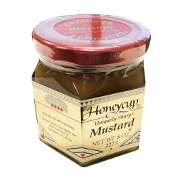 """Honeycup"" Mustard 8oz/6pc"