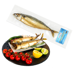 Hot Smoked Mackerel Econom h/s v/p *APX weight 1lb
