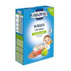 """Karapuz"" Instant Buckwheat With Apples 250gr/12pc"