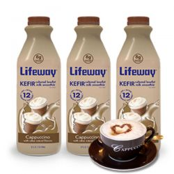 Kefir Cappuchino 1lt/6pc