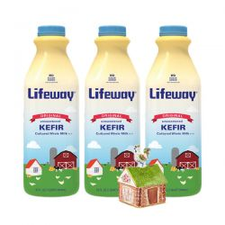 Kefir Original Plain 1lt/6pc