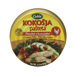 "М""Kokosja"" Chicken Pate 97gr/48pc"