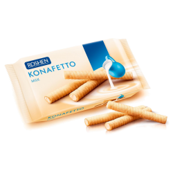 """Konafetto"" wafe rolls w/Milk 156g/15pc"