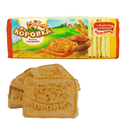 """Korovka"" Sweet Biscuits w/Milk  375gr/18pc"
