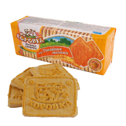 """Korovka"" Sweet Biscuits Baked Milk 375gr/18pc"
