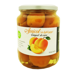 """Livada"" Compot Apricot in light Syrup 720gr/12pc"