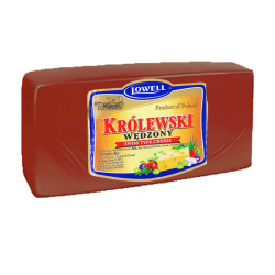 """LOWELL"" ""KROLEWSKI"" SMOKED Cheese BLOCK *APX WEIGHT 7-8 LB"