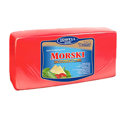 """LOWELL"" Cheese ""MORSKI"" BLOCK *APX WEIGHT 7-8 LB"