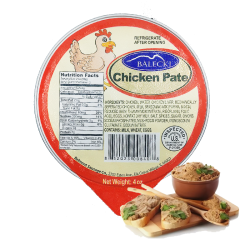 """Balecki"" Chicken Pate 4oz/10pc"