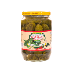 Marinated Gherkins With Hot Pepper  1lt/6pc