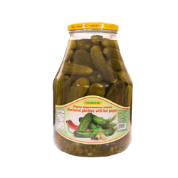 Marinated Gherkins With Hot Pepper  2.65lt/4pc