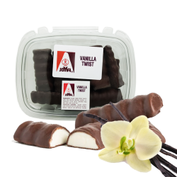 MARSHMALLOW TWIST VANILLA COVERED CHOCOLATE 1lb/10pc