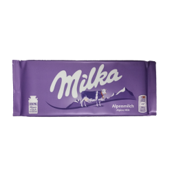 Milka alpine milk 100gr/24pc