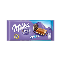 """Milka"" Milka with oreo 100gr/22pc"