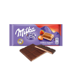 Milka strawberry 100gr/22pc