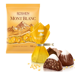 """Monblanc"" Chocolate candy Yellow 8.81LB/4kg LOOSE"