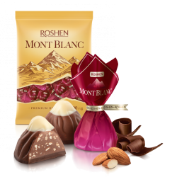 """Monblanc"" Chocolate candy w/Chopped Almond 8.81lb/4kg () LOOSE"