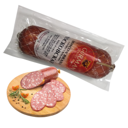 Moscow brand cooked salami MOSKOVSKAYA chank *APX weight 0.8 lb