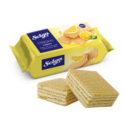 """SELGA"" Waffles (LEMON) 90gr/28pc"