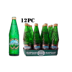 Narzan Mineral Water  0.5l/12pc (Glass)