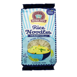 """NATURAL EARTH"" RICE NOODLES VERMICELLI (BLUE) 8.8OZ/12PC"