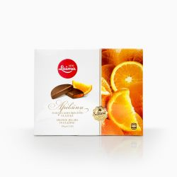 Orange Jellies in Chocolate  190gr/10pc