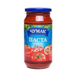 Paste Tomato 25%  450gr/10pc Glass
