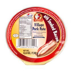 Pate Bacon  130gr/12pc