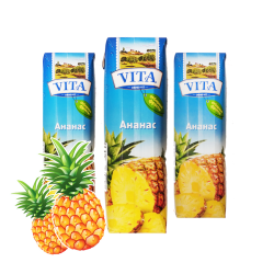 Pineapple juice 1l/12pc