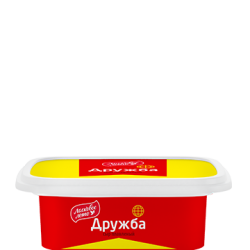 "PROCESSED CHEESE PASTY ""DRUZHBA"" 55% CUPS 170G/12"