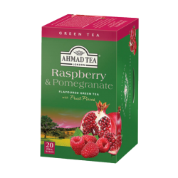 Raspberry & Pomegrante Green Tea  20tb/6pc