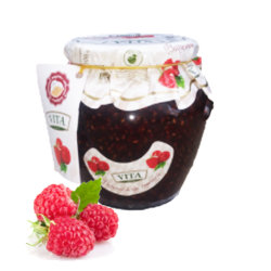 Raspberry  Preserves  670gr/6pc