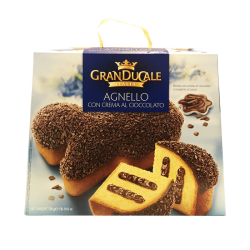 """Grand Ducale"" Agnello, chocolate kulich 750gr/11pc (BLUE)"