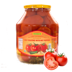 Red Tomatoes w/Hot Peppers 1.7lt/4pc