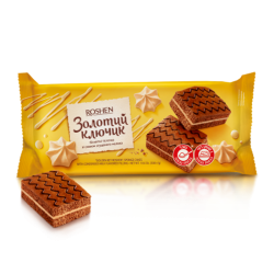"""Roshen"" Biscuit sponge ""Golden Key""  300g/9pc"