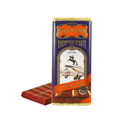 """Russian Chocolate"" Bitter Airated  90gr/10pc"