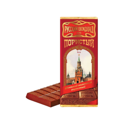 Russian Chocolate milk Airated  90gr/11pc
