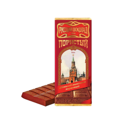 """Russian Chocolate"" Porestiy Milk Chocolate  90gr/10pc"