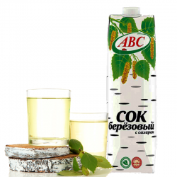 """ABC""  Birch (Berezoviy)  1L/12pc"