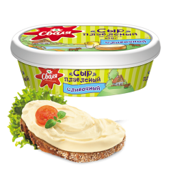 "Cheese spread ""Svalya"" 57% 185gr/6pc"