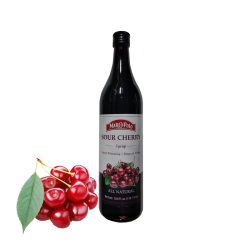 Sour Cherry Syrup  33.8oz/12pc