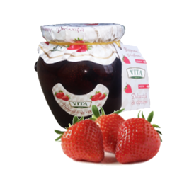 Strawberry Preserves  670gr/6pc